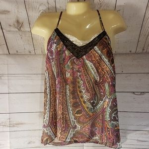 BKE By The Buckle Multi Color Tank Top